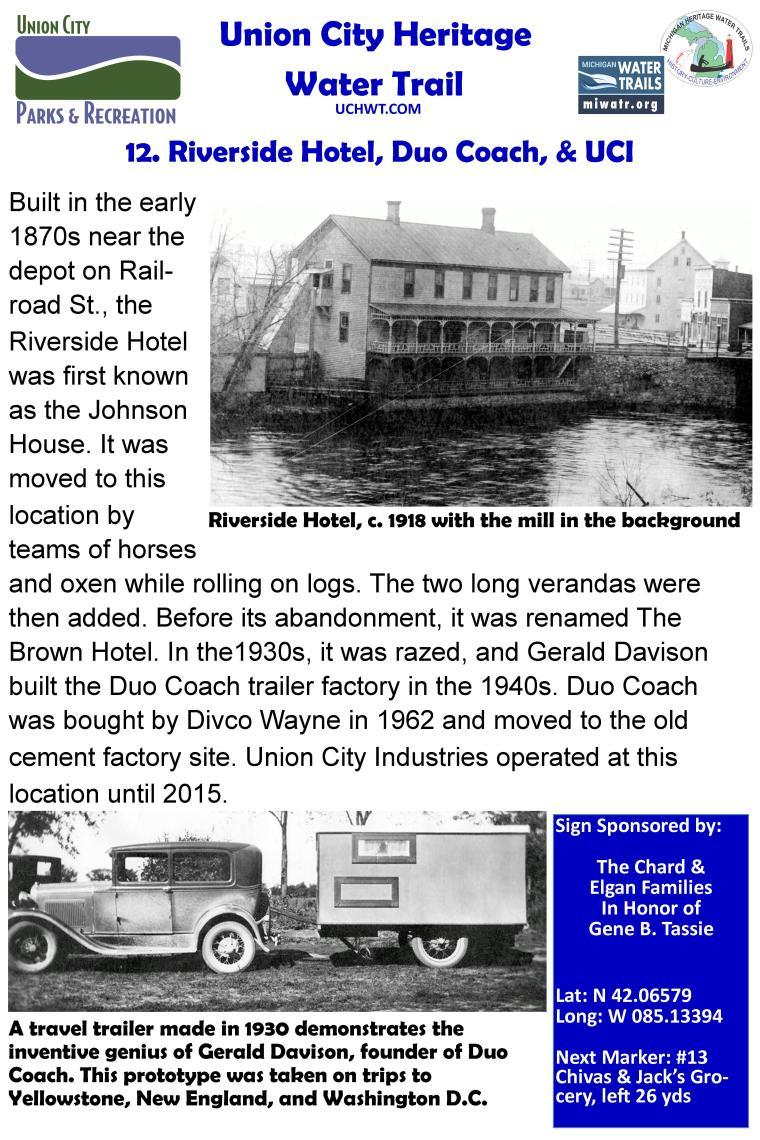 12 Riverside Hotel