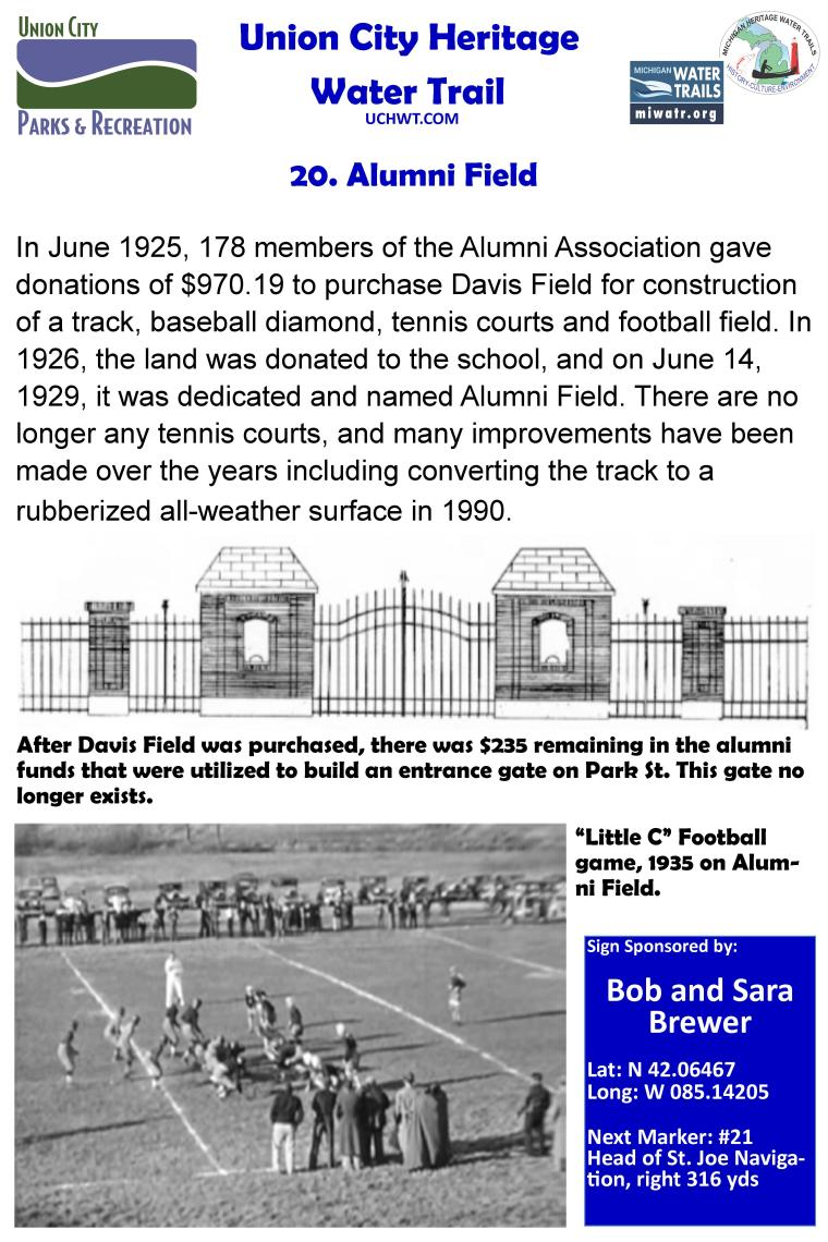 20. Alumni Field
