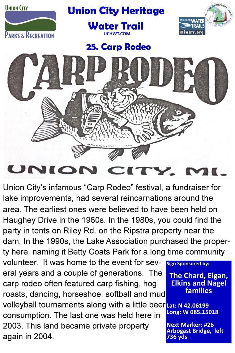 25 Carp Rodeo