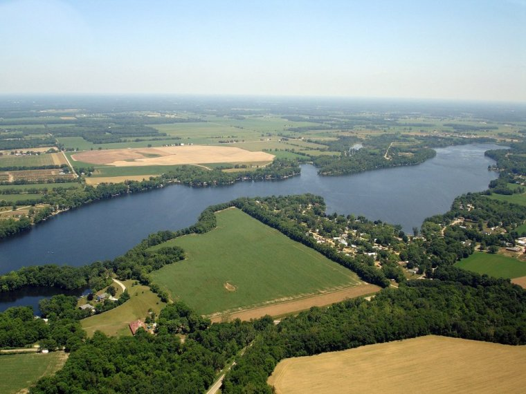 Aerial View of Union Lake