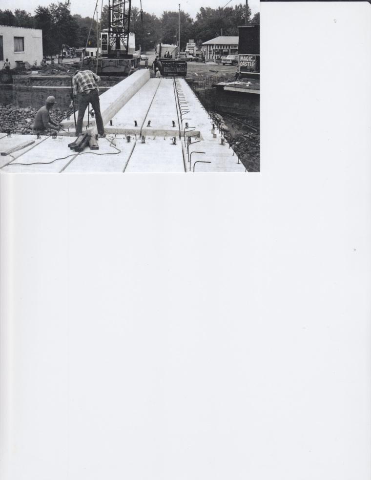 Broadway Bridge Construction - 1