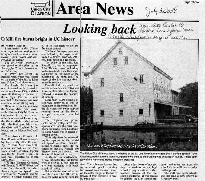 Mill Article