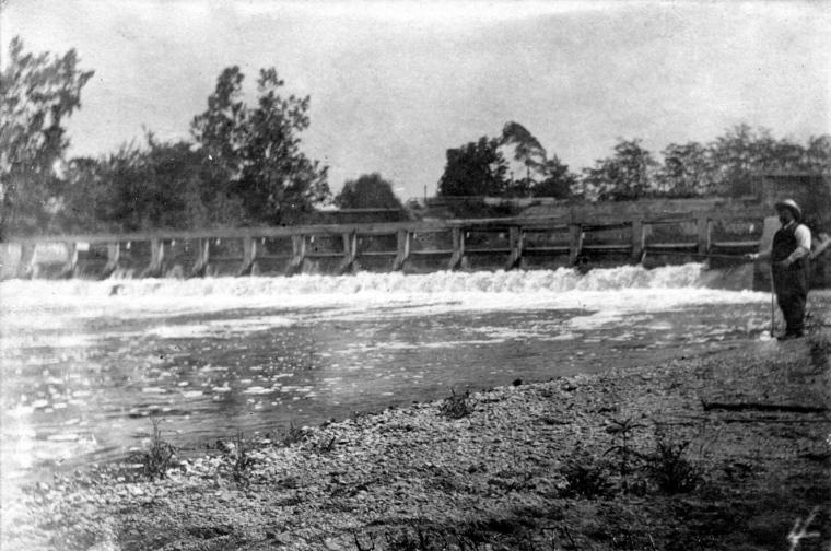 Mill Race Dam - 1907 - 1a