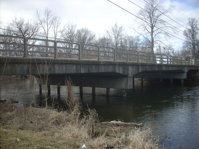 Park St. Bridge looking east 2013