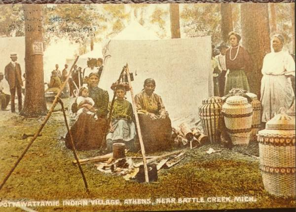 Potawatomi from Athens Area Historical Society