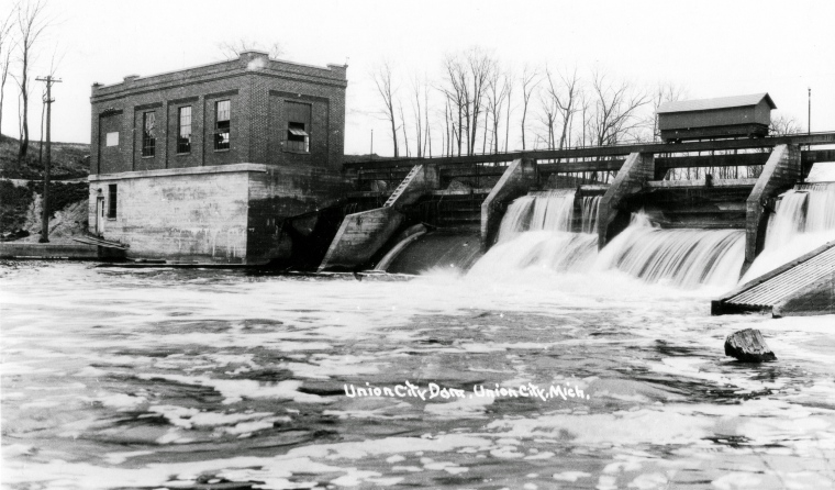 Riley Dam c. 1900 - 9b