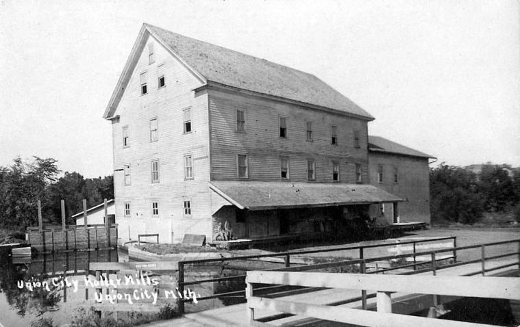 ROLLER MILLS, 1910 RPPC-1