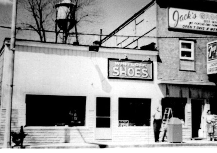 Whitlock Shoe Store - Palmer Whitlock & Jack's Grocery -  Rosemary Shaffer - 1968